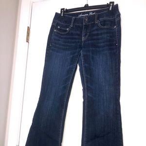 American Eagle jeans Artist size 4 short